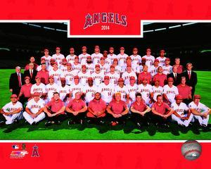 Los Angeles Angels 2014 Team Photo