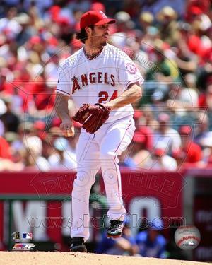 Los Angeles Angels - Dan Haren Photo