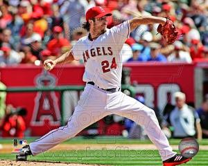 Los Angeles Angels - Dan Haren Photo