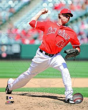 Los Angeles Angels - Garrett Richards Photo