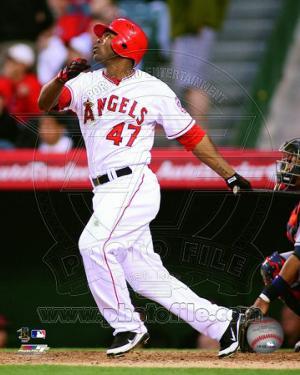 Los Angeles Angels - Howie Kendrick 2011 Action
