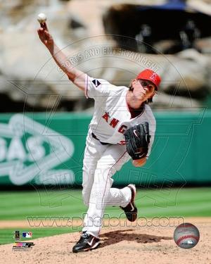 Los Angeles Angels - Jered Weaver Photo