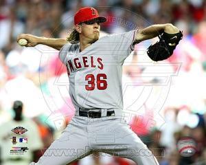 Los Angeles Angels - Jered Weaver Photo