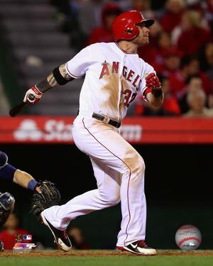 Los Angeles Angels - Josh Hamilton 2014 Action