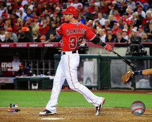 Los Angeles Angels - Josh Hamilton Photo