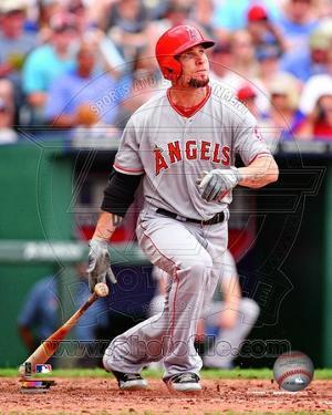 Los Angeles Angels - Josh Hamilton Photo