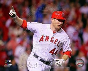 Los Angeles Angels - Mark Trumbo Photo