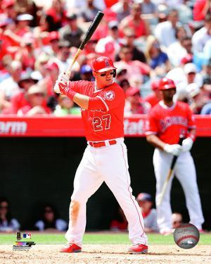 Los Angeles Angels - Mike Trout 2014 Action