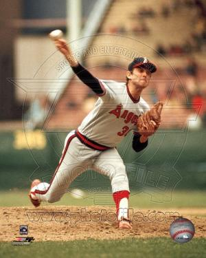 Los Angeles Angels - Nolan Ryan Photo