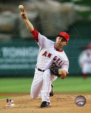 Los Angeles Angels - Tyler Chatwood Photo