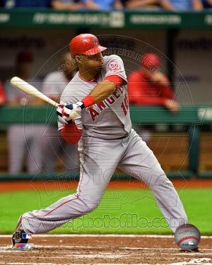Los Angeles Angels - Vernon Wells Photo