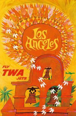 Los Angeles, California - Trans World Airlines Fly TWA - Swallows Return to San Juan Capistrano