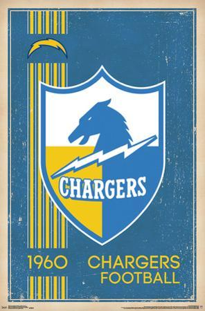 Los Angeles Chargers- Retro Logo 17