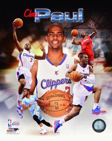 Los Angeles Clippers - Chris Paul 2014 Portrait Plus