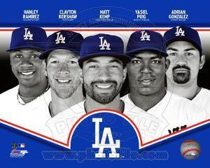 Los Angeles Dodgers 2013 Team Composite