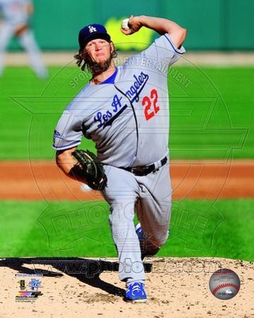 Los Angeles Dodgers - Clayton Kershaw Photo