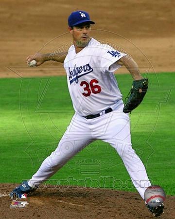 Los Angeles Dodgers - Greg Maddux Photo