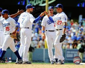 Los Angeles Dodgers - James Loney, Matt Kemp Photo