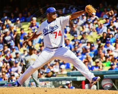 Los Angeles Dodgers - Kenley Jansen Photo