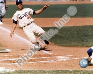 Los Angeles Dodgers - Maury Wills Photo