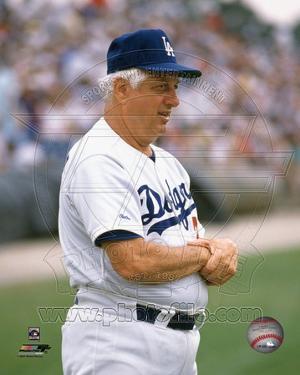 Los Angeles Dodgers - Tommy LaSorda Photo