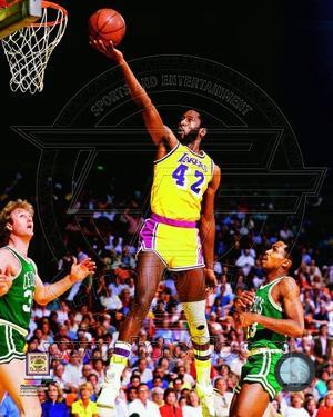 Los Angeles Lakers - James Worthy Photo