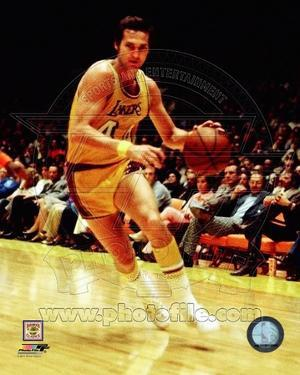 Los Angeles Lakers - Jerry West Photo