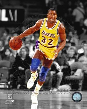 Los Angeles Lakers - Magic Johnson Photo