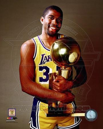 Los Angeles Lakers - Magic Johnson Photo