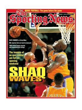 Los Angeles Lakers' Shaquille O'Neal - November 11, 1996