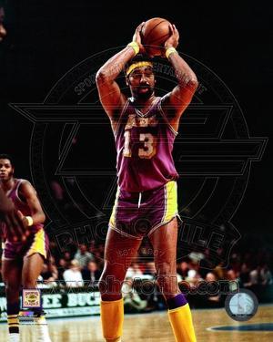 Los Angeles Lakers - Wilt Chamberlain Photo