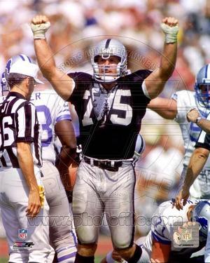 Los Angeles Raiders - Howie Long Photo