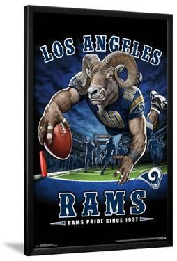 LOS ANGELES RAMS - END ZONE 17