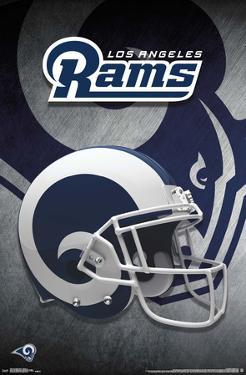 LOS ANGELES RAMS - HELMET 18