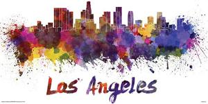 Los Angeles- Watercolors Inundation