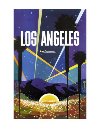 Welcome To Los Angeles California United States Travel Poster Art Advertisement