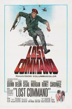 LOST COMMAND, US poster, Anthony Quinn, 1966