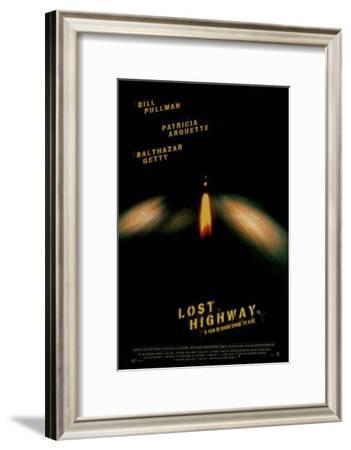 Lost Highway--Framed Masterprint