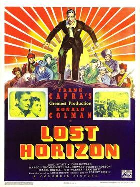 Lost Horizon, Top Center: Ronald Colman, 1937