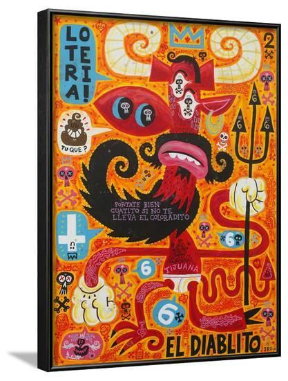 Loteria!-Jorge R^ Gutierrez-Framed Art Print