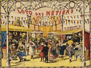 Loto Des Metiers Poster