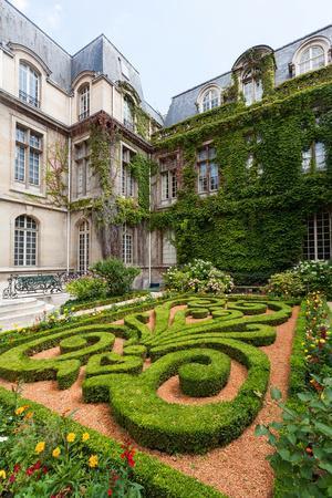 Beautiful Ornate Gardens of Carnavalet Museum