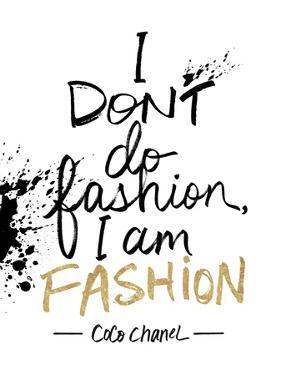 I am Fashion! by Lottie Fontaine
