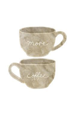 More Coffee by Lottie Fontaine