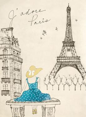 Sketchbook Paris II by Lottie Fontaine