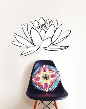 Lotus Flower Small Wall Art Kit