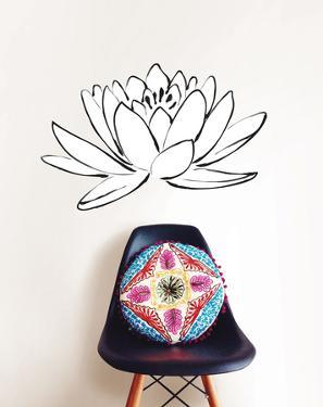 Lotus Flower Small Wall Art Kit