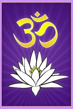 Lotus Meditation AUM