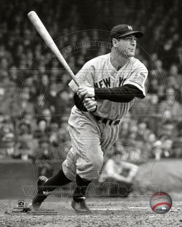 Lou Gehrig 1938 Action