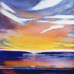 Evening Seascape by Lou Gibbs